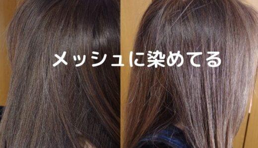 茶髪だと白髪が目立つ!白髪が目立たないセルフの白髪染めテクニック
